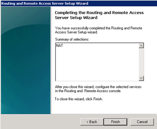 Windows Server 2008 R2 Üzerinde NAT Uygulaması