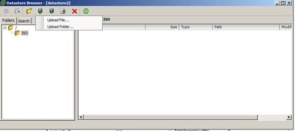 Vmware Esxi Datastore İçerisine ISO Dosyalarını Eklemek