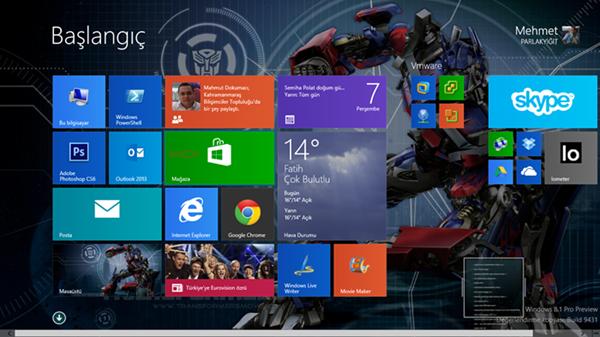 Windows 8.1 Uygulamaları Otomatik Olarak Güncelleştirmek