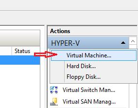 Hyper-V Generation.2 Sanal Makine Oluşturmak