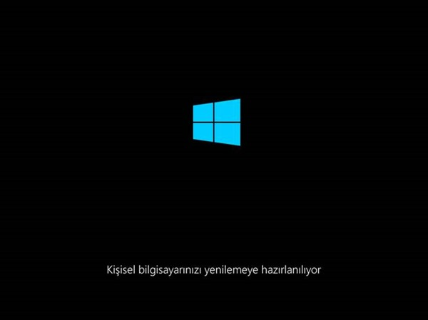 Windows 8.1 Refresh Your PC
