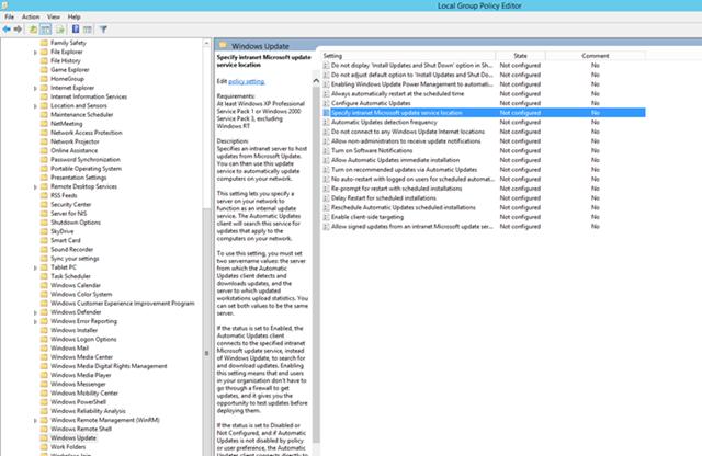 WSUS 4.0 Kurulumu ve Yapılandırma