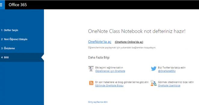 OneNote Class Notebook Eklentisi ile Sınıf Not Defterine Öğrenci Ekle ve Kaldır