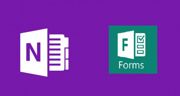 Windows 10 OneNote Uygulaması ile Microsoft Forms Ekleyin